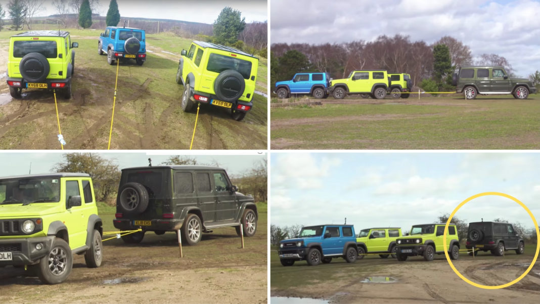 3 JIMNY WITH MERCEDES AMG G63