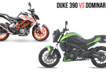 Duke 390 vs Dominar 400