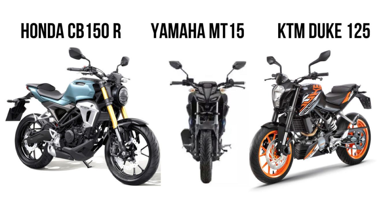 Honda Cb150r Streetster Vs Yamaha Mt