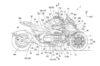 Honda NeoWing Three-Wheeler Bike Patented 1