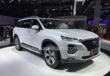 Hyundai Santa Fe LWB Shanghai Motor Show