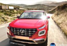 Hyundai Venue SUV Rendered