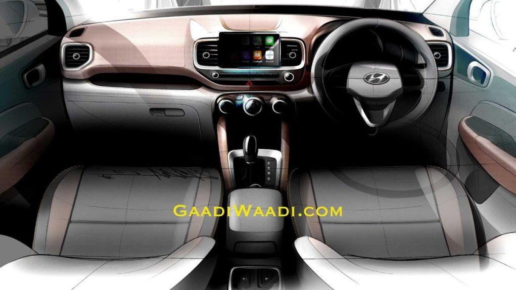 Hyundai-Venue-interior-teased