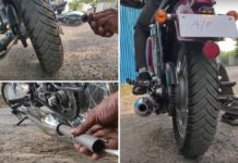 JAwa exhaust note with db killers-1