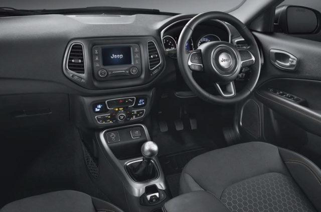 Jeep Compass Sport Plus Interior