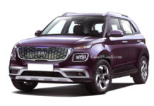 Kia Subcompact SUV Rendered