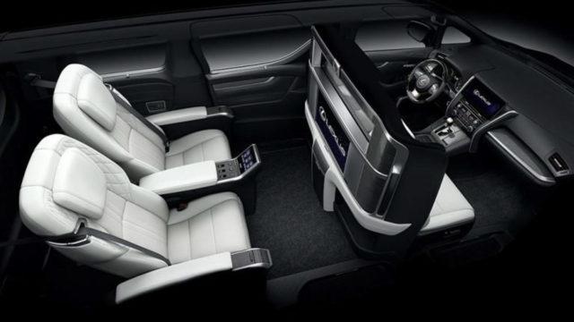 Lexus LM Interior