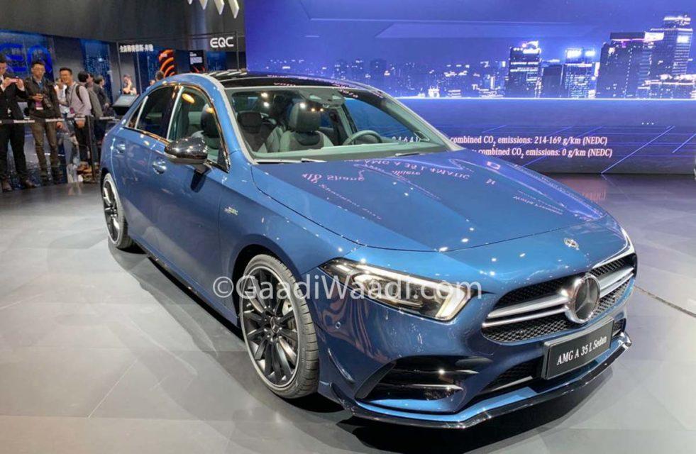 Mercedes-Benz AMG A35 L Sedan 3