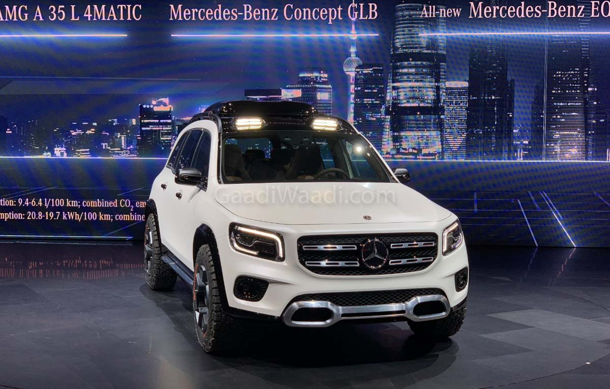Luxury Suvs Vehicle: Mercedes Concept GLB Is A Close-To-Production Rugged