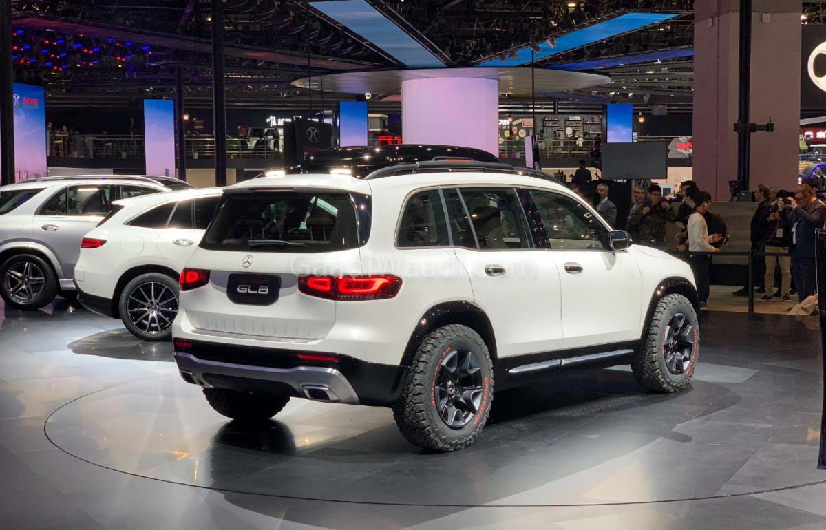 Suv With Third Row >> Mercedes Concept GLB Is A Close-To-Production Rugged ...