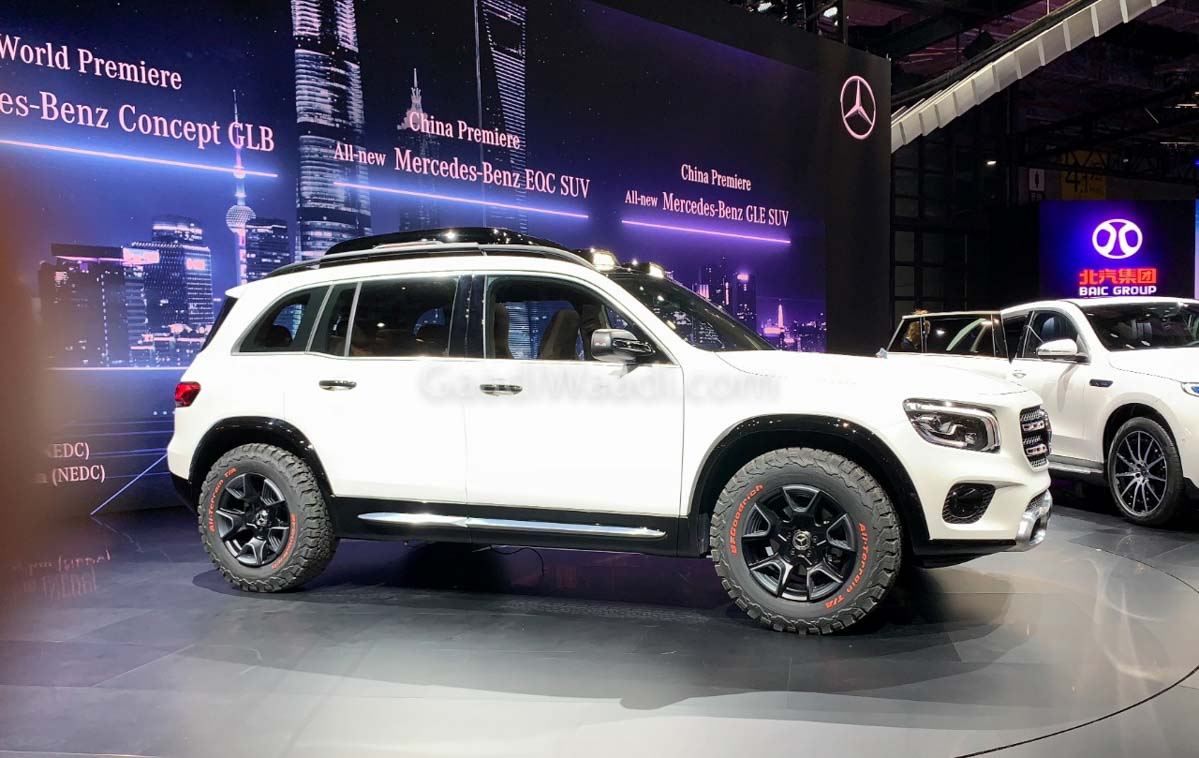 Mercedes Concept Glb Is A Close To Production Rugged