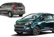 New Maruti Ertiga & Mahindra Marazzo Drive MPV Sales In India