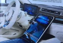 Next-Gen Mercedes S-Class Interior