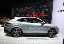 Porsche Cayenne Coupe Shanghai Motor Show 2019 1
