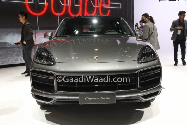 Porsche Cayenne Coupe Shanghai Motor Show 2019 2