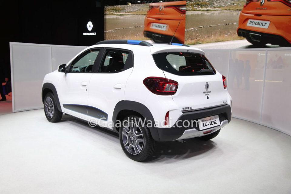 Renault City K-ZE (Kwid EV) 5