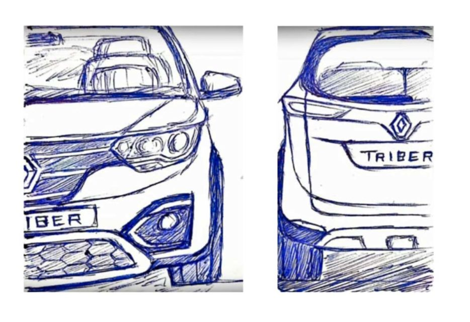 Renault Triber Design Sketch