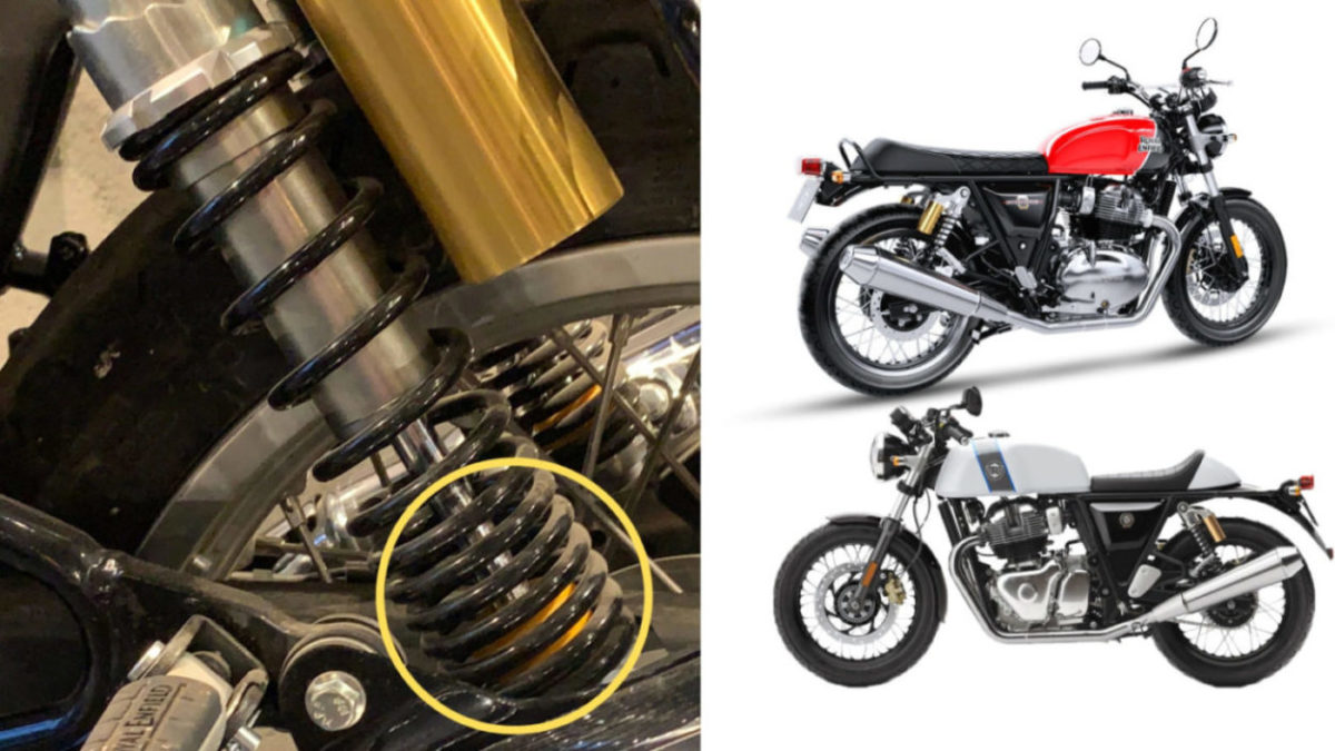 Royal Enfield Upgrading 650 Twins' Rear Suspension Free Of Cost