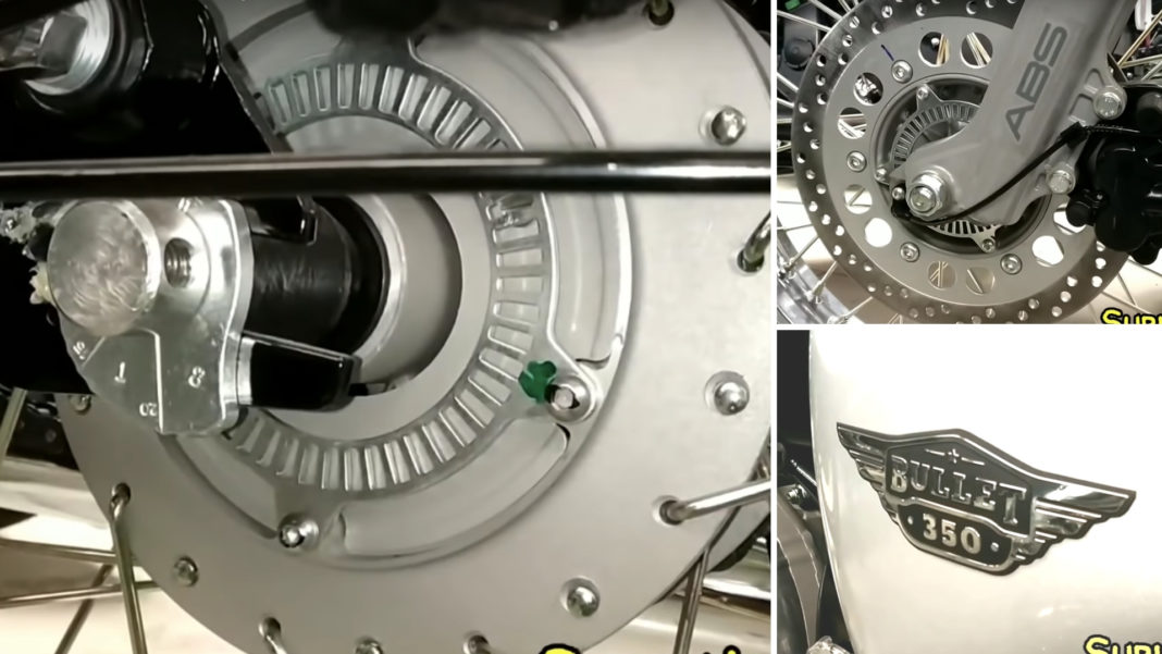 Royal Enfield Launches Bullet 350 With Rear Drum Brake & Dual-channel ABS