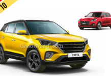 Top 10 Selling Cars In March 2019 - 8 Maruti Cars Dominate The List