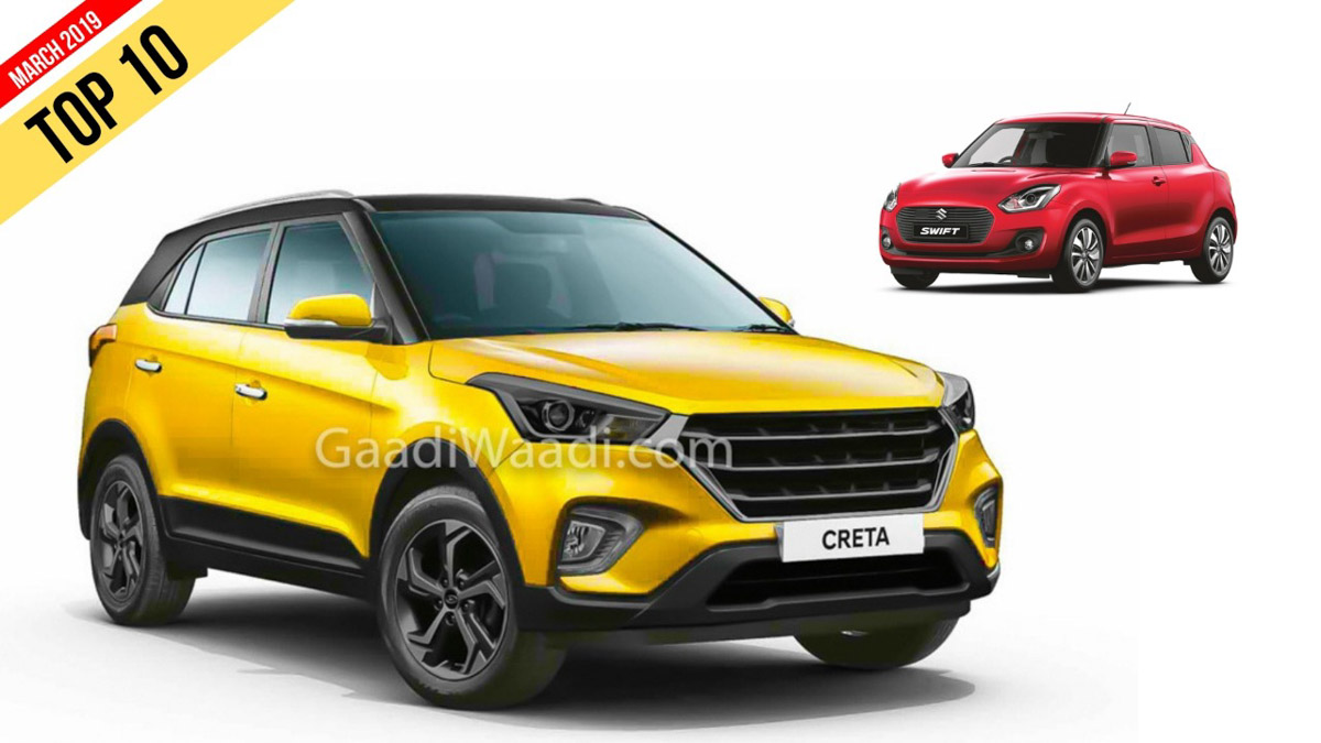 Best Selling Cars 2019 Top 10 Selling Cars In March 2019   8 Maruti Vehicles Dominate The