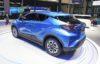 Toyota C-HR EV rear quarter
