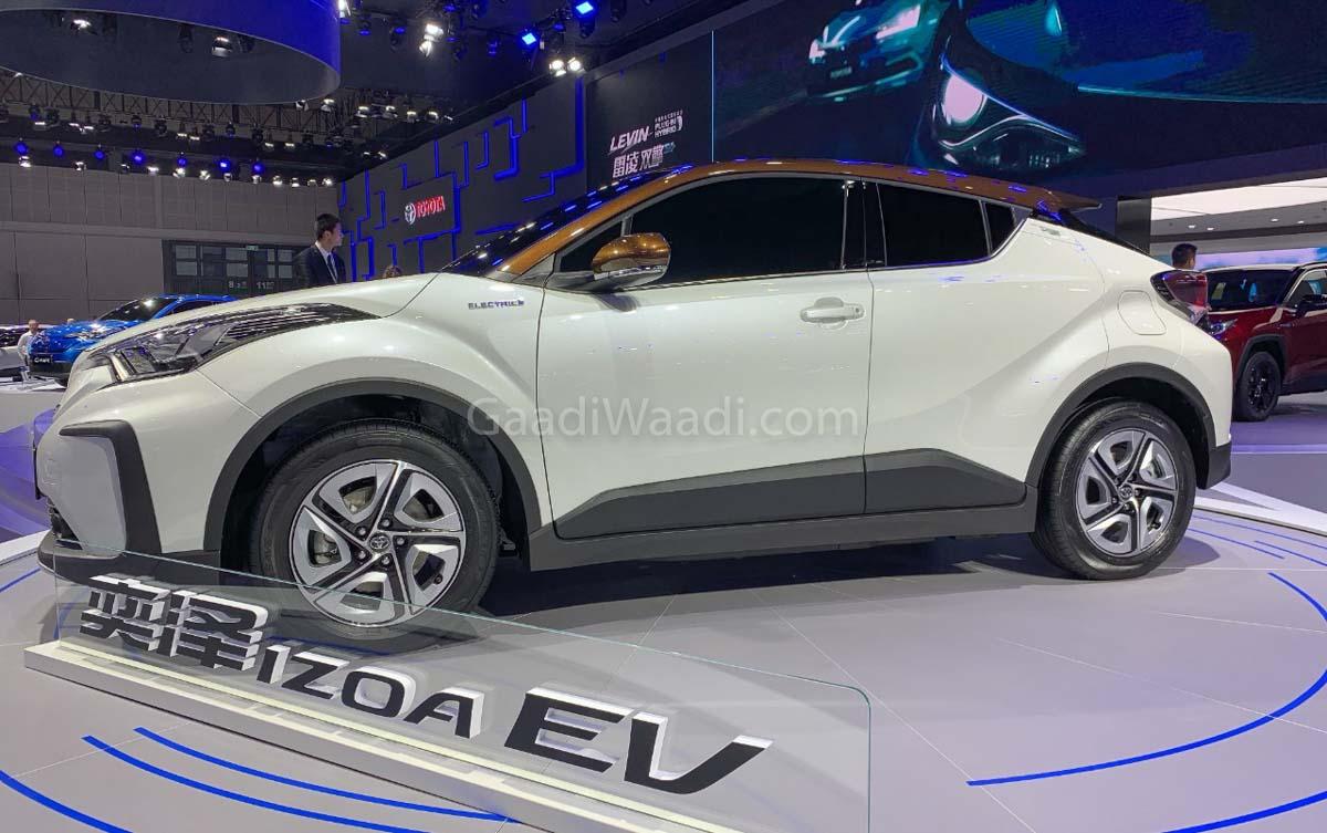 Toyota C Hr Ev Makes Global Premiere At Shanghai Motor Show