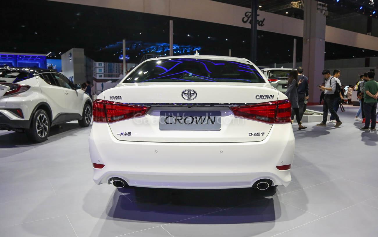 Flagship Toyota Sedan 'Crown' Graces Shanghai Motor Show