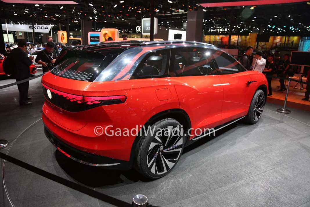 New Honda Suv >> Volkswagen ID Roomzz Is A Spacious 3-Row Electric SUV ...