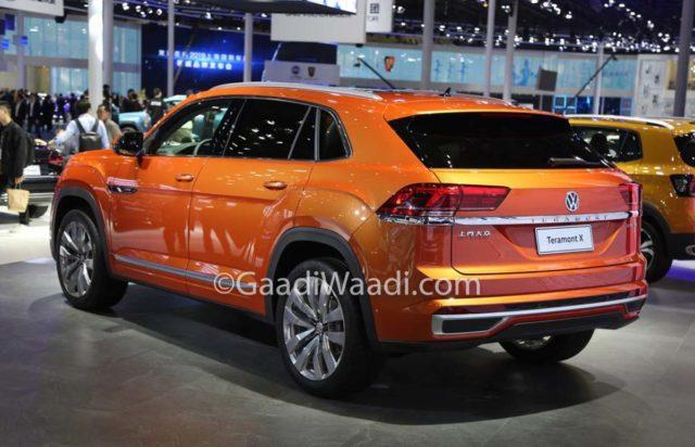Volkswagen Teramont Coupe Auto Shanghai 2019 1