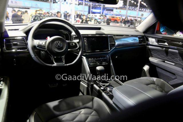 Volkswagen Teramont Coupe Interior Auto Shanghai 2019_