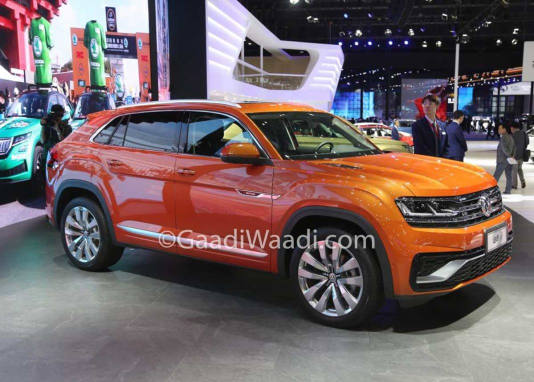 Volkswagen Teramont X Auto Shanghai 2019 1