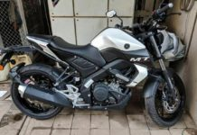 Yamaha-MT15-in-White