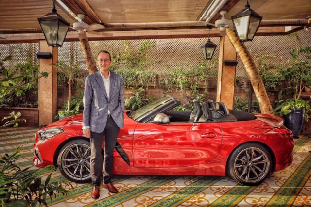 bmw z4 launched in india