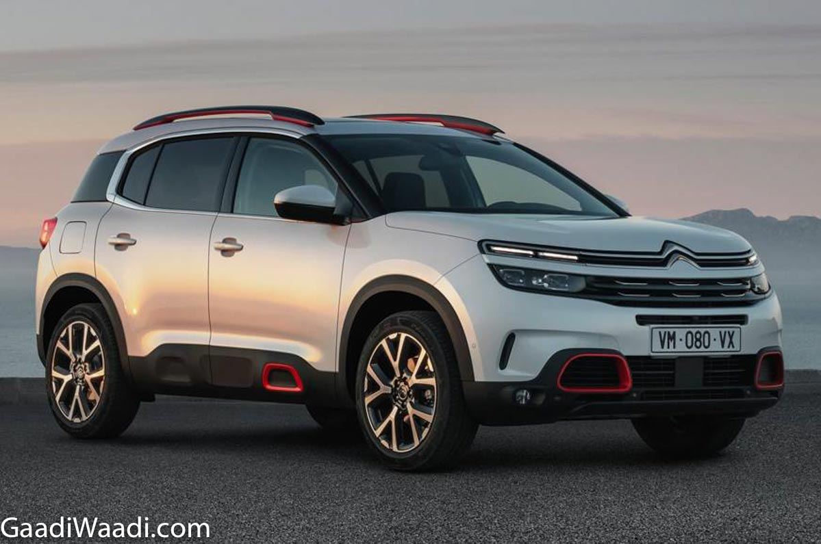 citroen brand debuts in india with c5 aircross suv launch next year. Black Bedroom Furniture Sets. Home Design Ideas