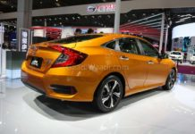 honda civic cooper gold colour 1