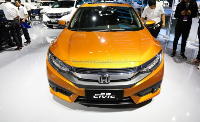 honda civic cooper gold colour 2