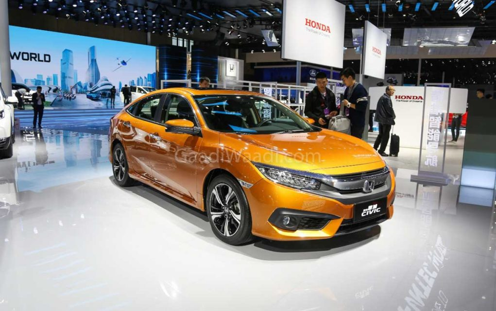 honda civic cooper gold colour 4