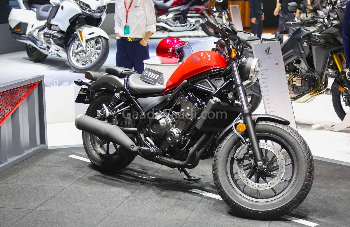 2020 Honda Rebel Top Speed.Honda Rebel 500 Cruiser Showcased At 2019 Shanghai Motor Show