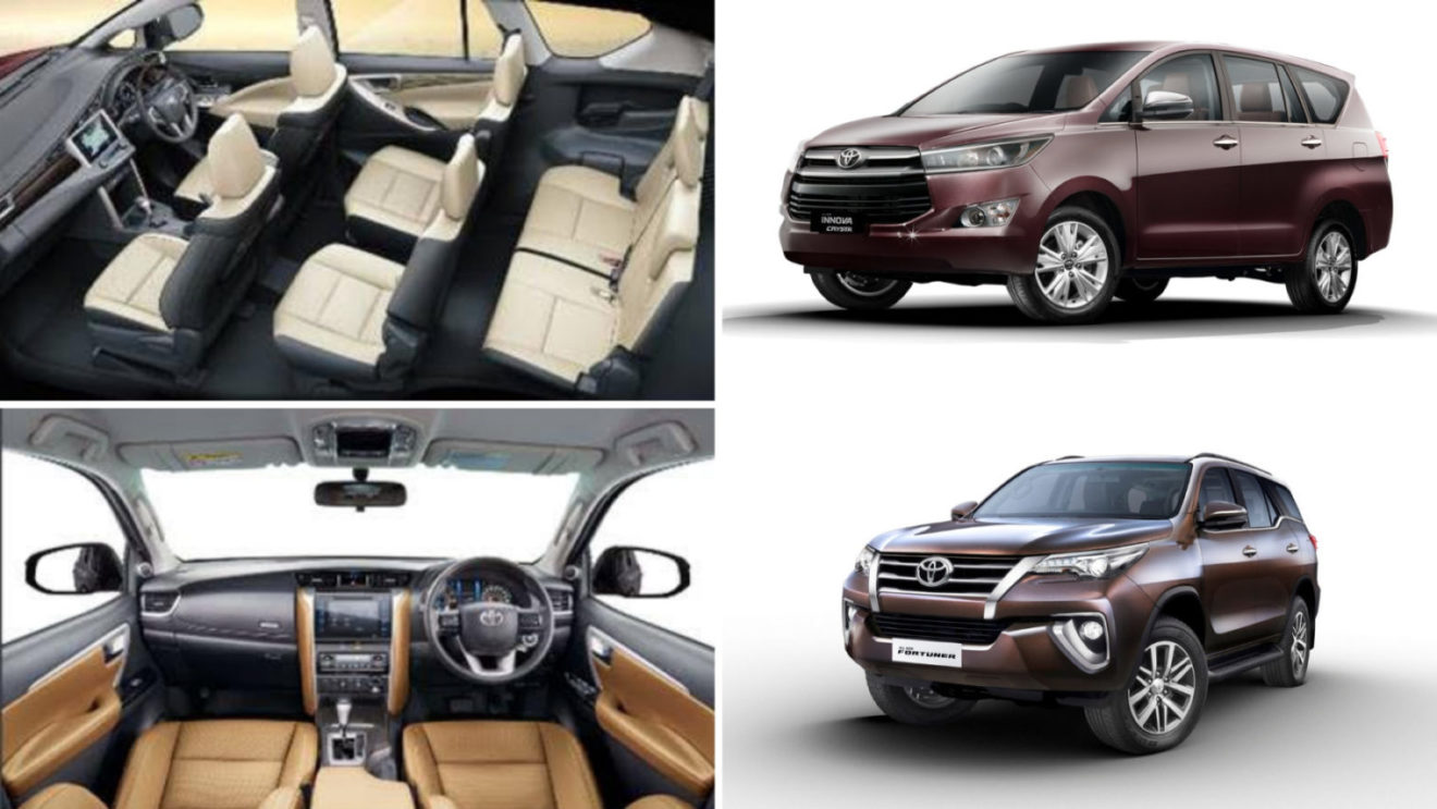 Toyota Innova Crysta And Fortuner Get Heat Rejection Glass