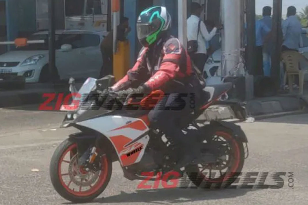 ktm rc 125 spied india