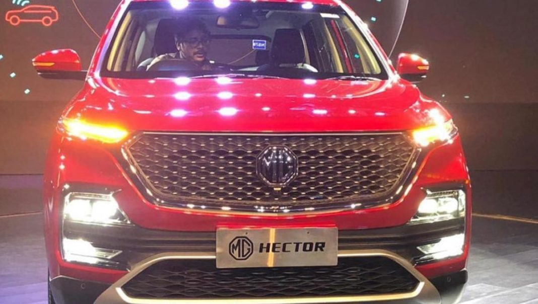 mg hector revealed_