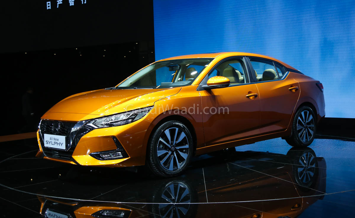 Nissan Revealed Sylphy Sedan At 2019 Auto Shanghai