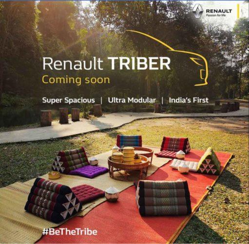 renault triber mpv six seater