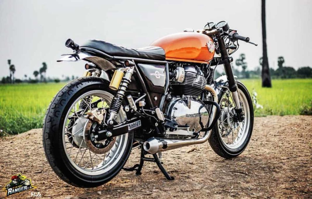 royal enfield interceptor 650 customised cafe racer 8