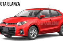 toyota glanza (toyota rebadged baleno) India launch date