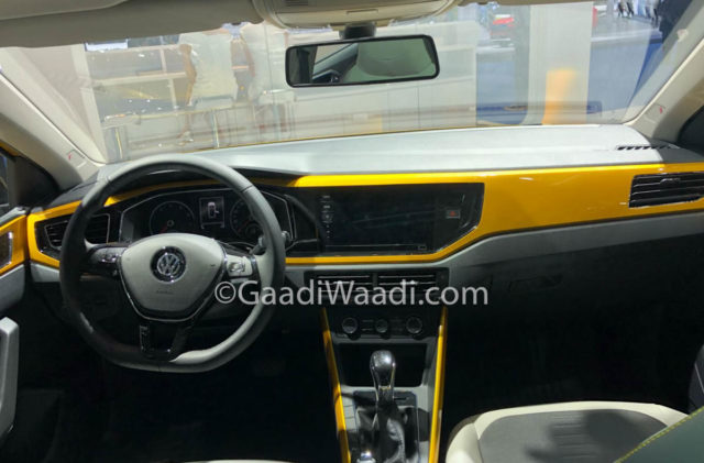 volkswagen polo plus interior
