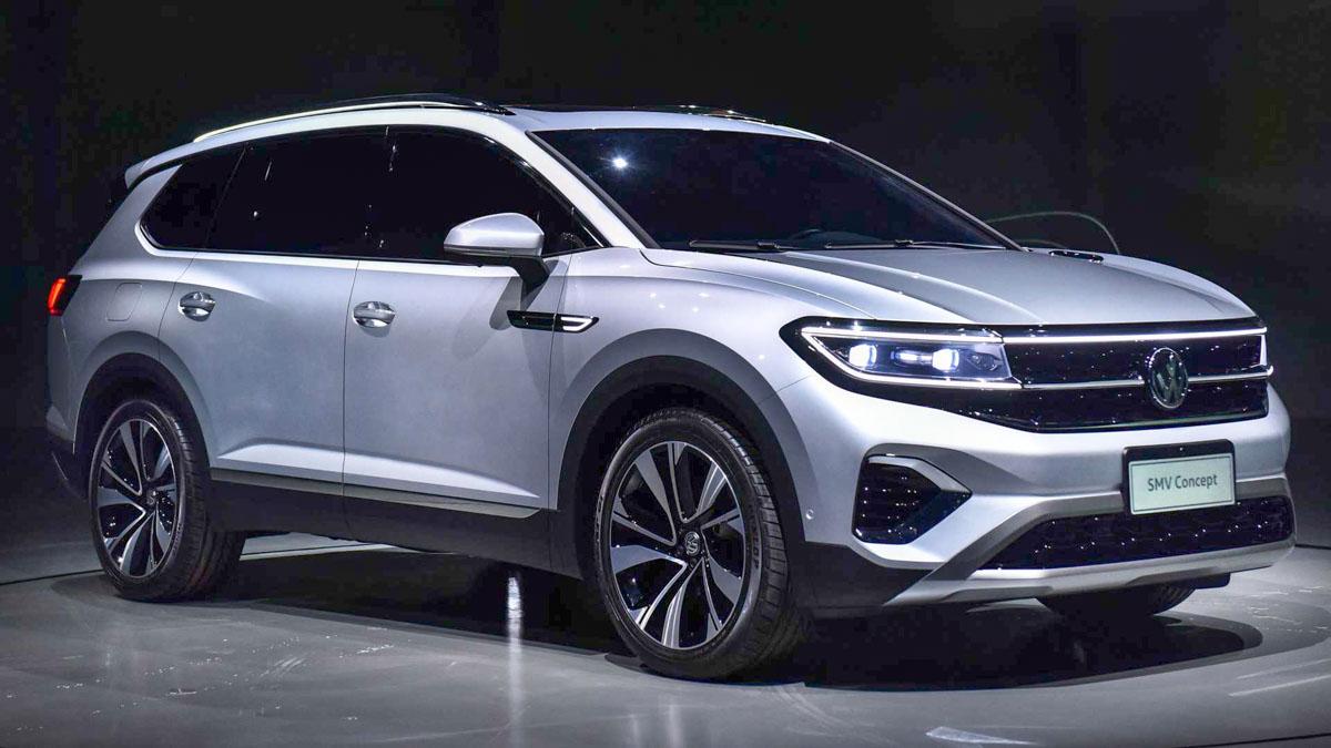 Volkswagen Smv Concept Debut At Auto Shanghai 2019