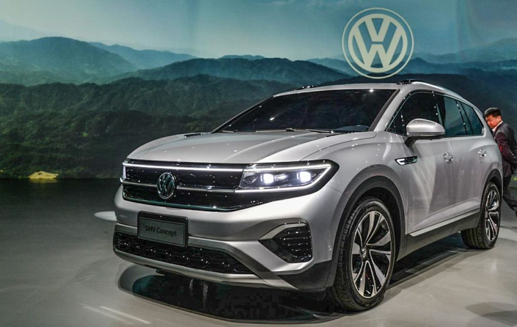 volkswagen smv concept debut at auto shanghai 2019