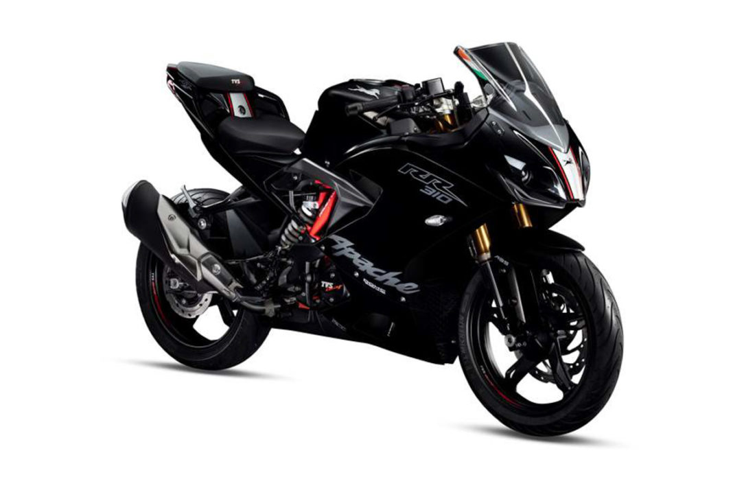 2019 TVS Apache RR310 Launched In India At Rs. 2.27 Lakh
